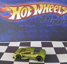 Hot Wheels 2010 Mystery Car 231 Zotic Satin Gold Yellow Rims Malaysia o5/black
