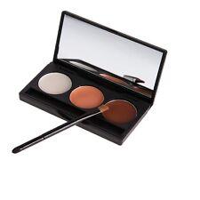 Professional 3 Colors Concealer Cosmetic Face Cream Palette Salon Contour Makeup