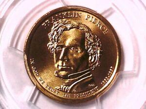 2010 D Franklin Pierce Presidential Dollar PCGS SP 68 Position B 18201314