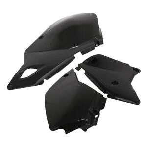 Rear Plastic Side Panels Radiator Shrouds Cover Protect For DRZ400 Motorcycle