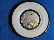 Chokin Plate, San Pacific, Made in Japan, 7 3/4 inch plate.