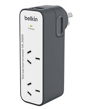 Belkin Surge 2 Outlet USB 2.4amp International Travel Charger 5 Adapter Plugs
