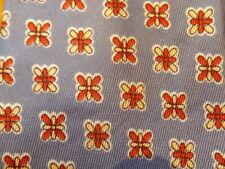 "1940s 1950s Antique Vintage Retro Arrow ~ Mens Tie ~ Lavender Red Floral ~ 49"""