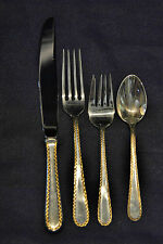 GOLDEN WINSLOW STERLING BY KIRK SILVER SET FOR 8 WITH 4 PIECES PER SETTING