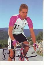 CYCLISME carte cycliste GERD AUDEHEM équipe DEUTSCHE TELEKOM 1996 signée