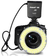 Aputure Amaran Halo AHL-HN100 CRI 95+ LED Macro Ring Flash Light for Nikon DSLR