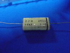 ITT condensador FKF 2,2uf 250v-tdecomunicatión set con 2 unidades 13479