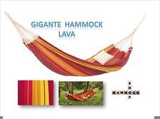 New Brazilian XXL Family Hammock ~ GIGANTE ~ Lava