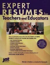 EXPERT RESUMES FOR TEACHERS AND EDUCATORS By Louise M. Kursmark **BRAND NEW**