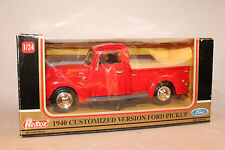 Redbox, 1940 Ford Pickup, Customized Version, 1:25 Scale,  Boxed