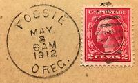 Scott #406 US 1912 2 Cent Washington Postage Stamp VF