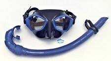 Mask and Snorkel Set for Diving, Freediving and Spearfishing WIL-DS-27B