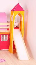 Orange & Red Tower for Childs Midsleeper Bed or Bunk Bed