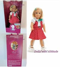"American Girl Mini 6"" Doll Kit Kittredge 2016 Special Edition Reporter Dress"