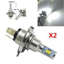 2X 9003/H4/HB2 Car Headlight Kit 4000LM 6000K High Low Beam 80W LED Light Bulb
