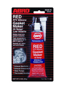 ABRO 11-AB RTV Silicone Gasket Maker Red 85g