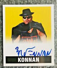 2017 Leaf Originals Wrestling Konnan Yellow /25 On Card Autograph Auto #A-K1 WCW