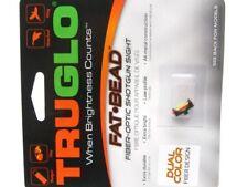 Truglo Dual Color 3mm Fat Bead Fiber Optic Sight Set For Shotgun TG948Ed