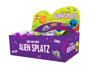 Alien Splat Ball, Fun Activity To Squash, Stretch and Squeeze For Kids Fun 3 +y