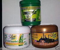 3 UNIT 1 SILICON MIX BAMBU + 1 ARGAN OIL + CRECE PELO 8 OZ HAIR TREATMENT GROWTH