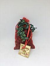 Luxury Scented Mini Christmas Pine Cones Sachet Christmas Spice