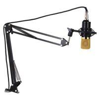 Professional Adjustable Metal Suspension Scissor Arm Microphone Stand Holder for