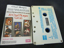 CHAD MORGAN 20 GREATS ULTRA RARE AUTOGRAPHED AUSSIE CASSETTE TAPE!