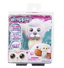 Wrapples Little Live Luna White Pastel Plush Interactive Wrist Pet NEW Hot Toy