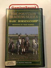 The Pony Club Training Series VHS Video Retro, Supplied by Gaming Squad