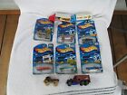 Lot of 10 NICE Hot Wheels >6 ARE NEW AND FACTORY SEALED!!