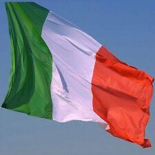 LOTTO STOCK 100 BANDIERE TRICOLORE ITALIA ITALIANE 150 X 90 CM SENZA ASTA