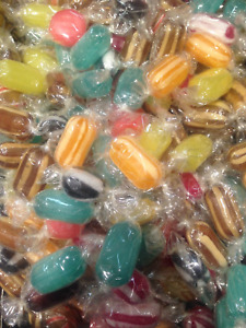 WINTER MIXTURE - HARD BOILED MENTHOL WARMER * SOAR THROATS COLDS * RETRO SWEETS