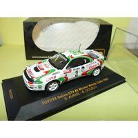 TOYOTA CELICA GT4 RALLYE MONTE CARLO 1993 AURIOL IXO RAC029 1:43 1er