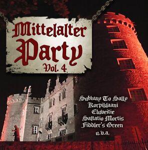 MITTELALTER PARTY VOL.4 IV CD Tanzwut SALTATIO MORTIS Subway To Sally