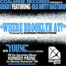 "Bekay featuring Old Dirty Bastard / ODB - WHERE BROOKLYN AT? / YOUNG 12"". New"