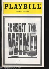Broadway Playbill INHERIT THE WIND February 1996 Royale Theatre Excellent