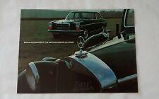 Mercedes Benz 220 Diesel Sales Advertising Brochure c. 1971
