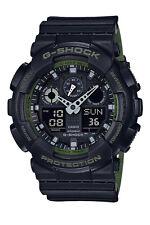 Ga-100l-1a Black G-shock Casio Watches 200m Resin Band Analog Digital Light