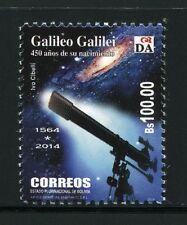 Bolivien Bolivia 2014 Galileo Galilei Astronomie Astronomy Teleskop MNH