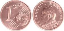 Vaticano 1 Céntimos 2003 Moneda de Curso Con Papstmotiv Recién Acuñado