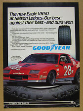 1983 Guldstrand Racing CAMARO Z28 race car photo Goodyear Tires vintage print Ad