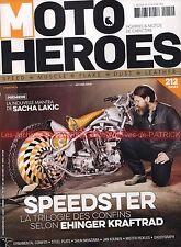 MOTO HEROES 14 Sacha LAKIC Ehinger Kraftrad Speedster ALPINESTARS Avon X 6TM BMW
