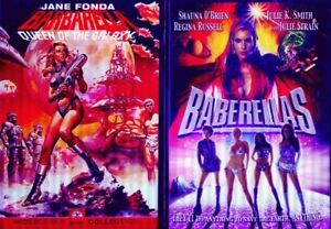 BARBARELLA 1& 2: Baberellas- Jane Fonda-Shauna Smith-Julie Strain- NEW 2 DVD