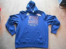 Authentic Nike Denver Broncos Super Bowl 50 Won More NFL Hoodie Men XL NEW SHARP
