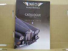 Neo Katalog, Catalogue 2007-2012, Edition 2012, englisch, 68 Seiten