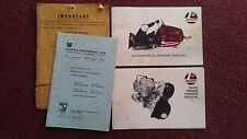 71 Rupp Snowmobile Owners Manual and TR440 Engine Manual