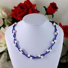 Glassteine Echtschmuck-Halsketten & -Anhänger aus Edelstahl für Damen