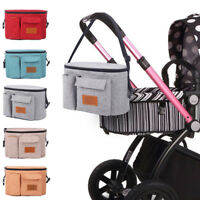 Stroller Bags Mummy Waterproof Hanging Carriage Pram Buggy Trolley Bottle Bag