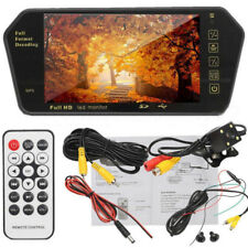 7'' inch MP5 Car Rear View Parking Mirror LCD Monitor Player + Reversing Camera