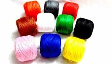 NEW 10 x Butter Fly Gold Crochet Cotton Thread Balls Assorted Colours Embroidery